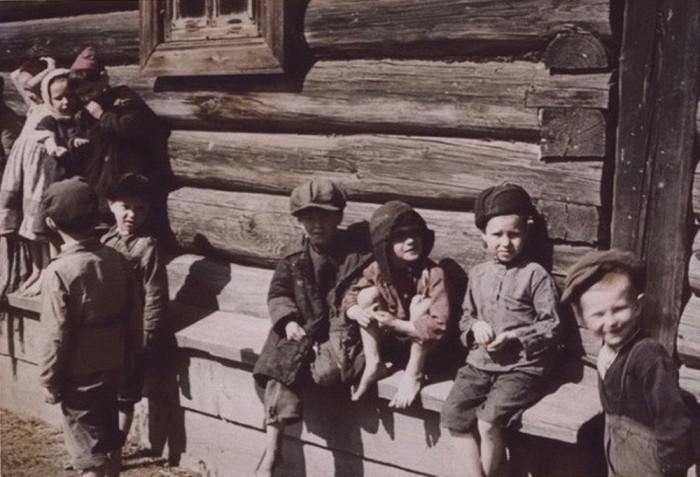 СССР, Калужская область, 1942 год.