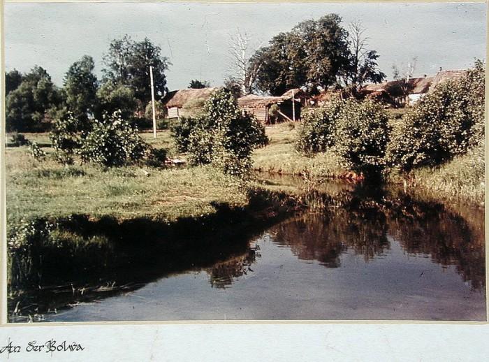 Фотография, сделаная в оккупированной деревне Дальнее Натарово.