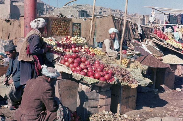 Документальные ретро фотографии, сделанные в Афганистане в середине ХХ столетия.