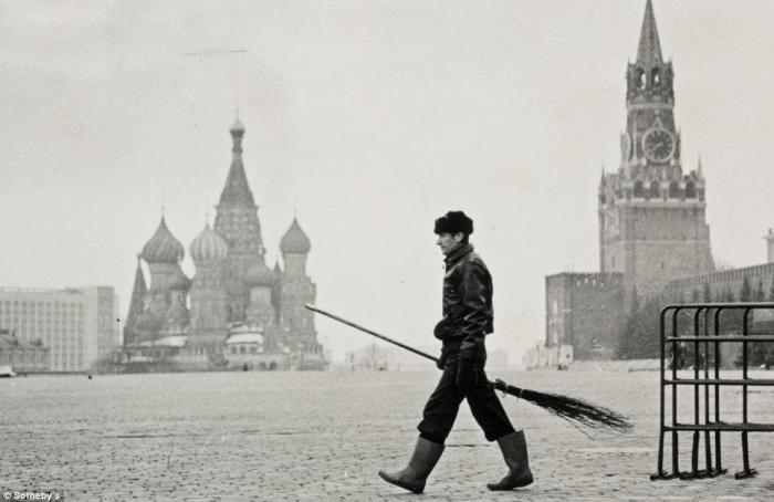 Фотография Геннадия Бодрова, сделанная в 1988 году.