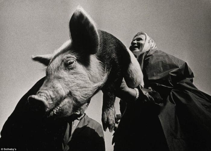 Фотография, которая была продана в лоте из трех работ за 4 тысячи фунтов стерлингов.