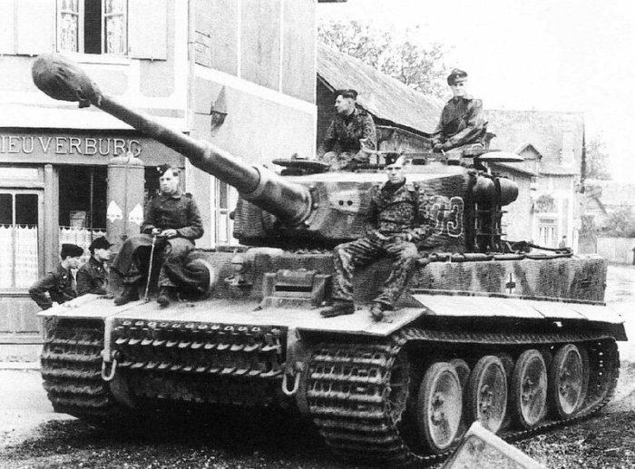 Немецкий тяжёлый танк Panzerkampfwagen VI.