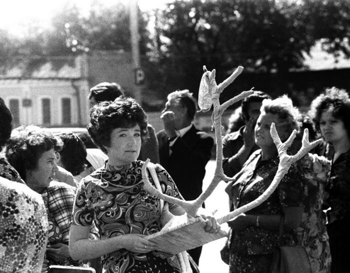 Подарок. СССР, Казань, 1974 год.