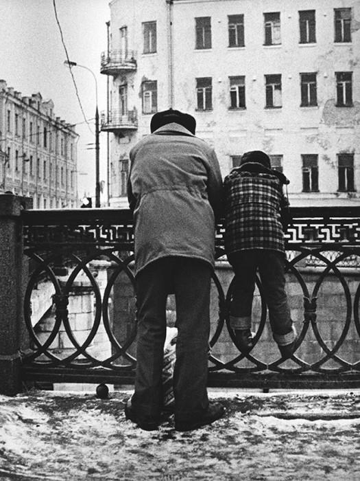 Коренные москвичи. СССР, Москва, 1970-е годы.