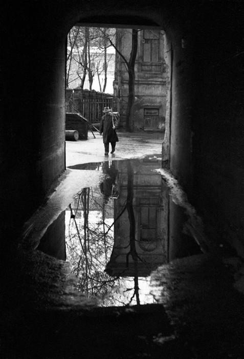 Проулок на Пятницкой. СССР, Москва, 1963 год.