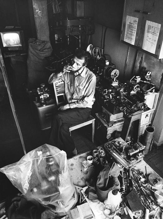 Специалист в области прикладной механики. СССР, Москва, 1970-е годы.