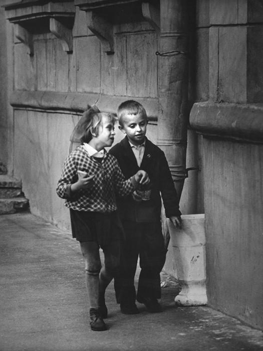 Милая беседа. СССР, Ярославль, 1969 год.