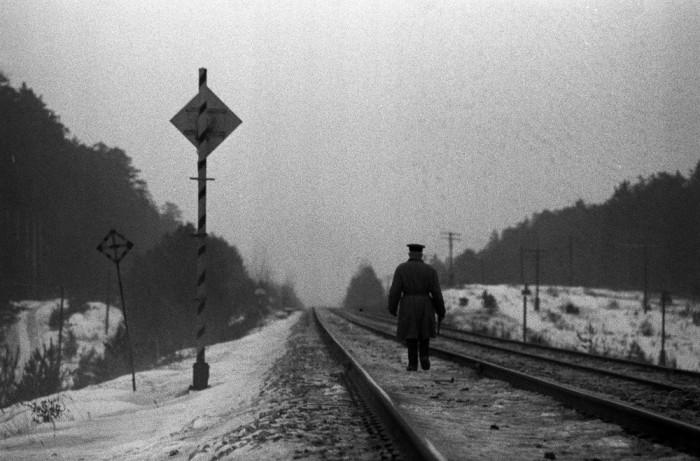 Работник железнодорожного транспорта. СССР, Казань, 1969 год.