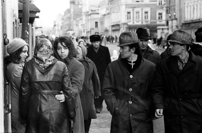 Дух и атмосфера далеких 70-х в объективе Рустама Мухаметзянова. СССР, Казань, 1974 год.