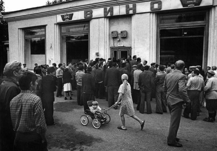 СССР, Комсомольская улица, Лениногорск, 1981 год.