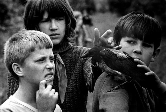 «Знакомство с вороном». СССР, Казань, 1976 год.