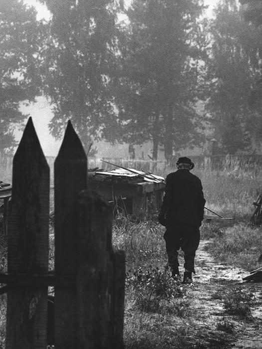 Последний житель. СССР, Нижегородская область, 1980 год.