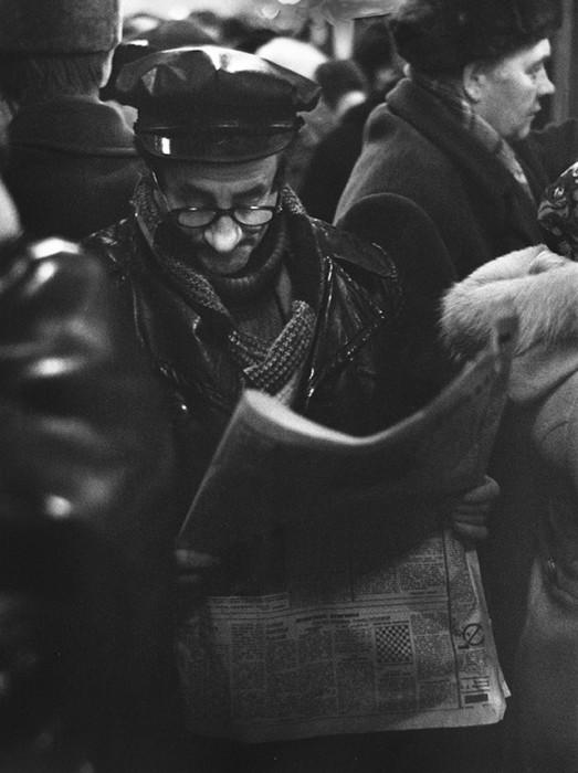 Самый читающий народ в мире. СССР, Москва, 1960-е годы.