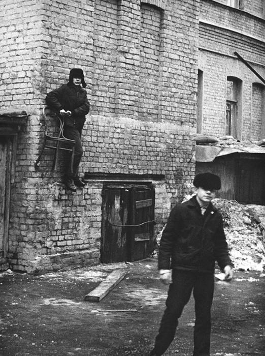 Одна из старейших улиц Замоскворечья. СССР, Москва, 1970-е годы.