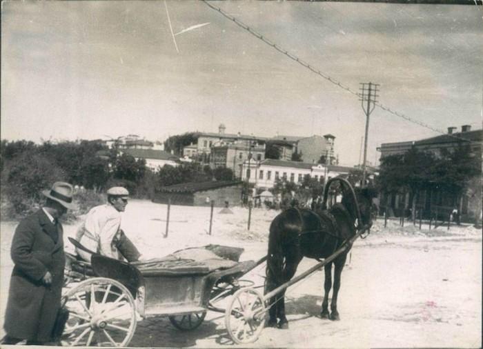 Местное такси. Севастополь, 1929 год.