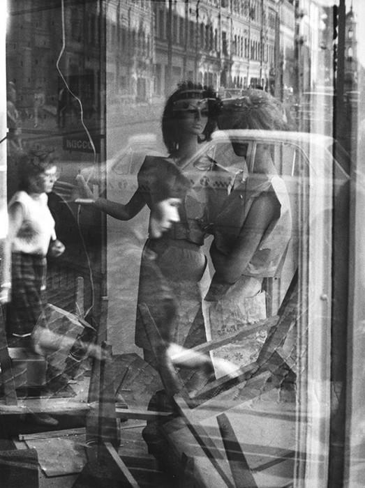 Ателье по ремонту и пошиву одежды. СССР, Москва, 1972 год.