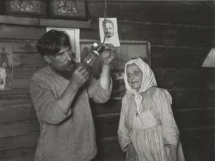 СССР, село Кашино, 1925 год. Автор фотографии: Аркадий Шайхет.