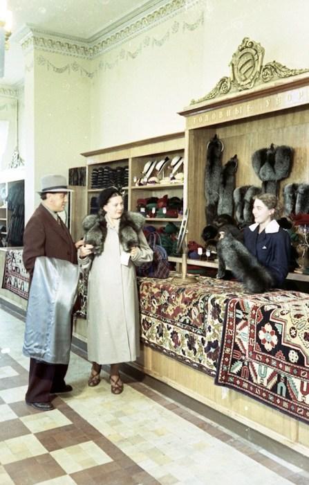 СССР, 1950-е годы. Автор фотографии: Семён Мишин-Моргенштерн.