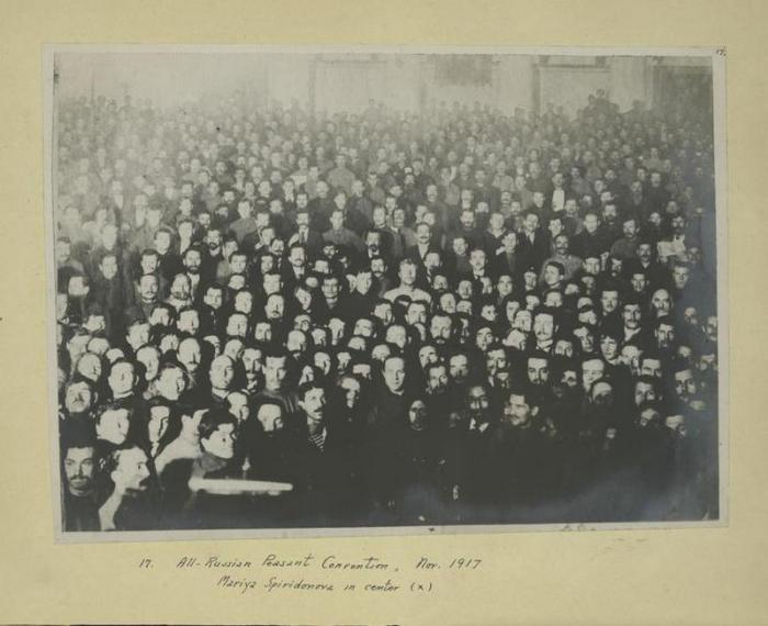 II Всероссийский Съезд Советов крестьянских депутатов, ноябрь 1917 года.
