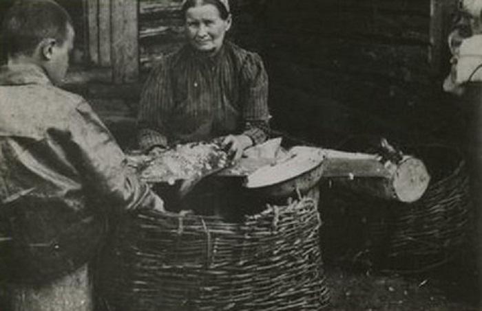 Бабушка Михаила Ивановича Калинина.