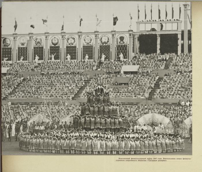 Всесоюзный физкультурный парад 1947 года.