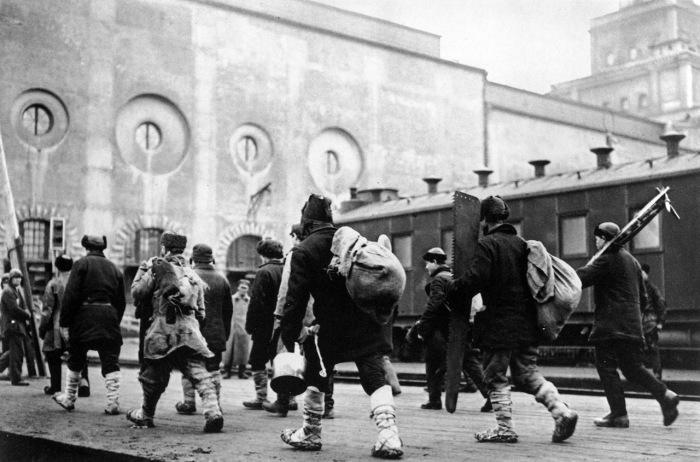 На заработки в Москву, 1929 год.