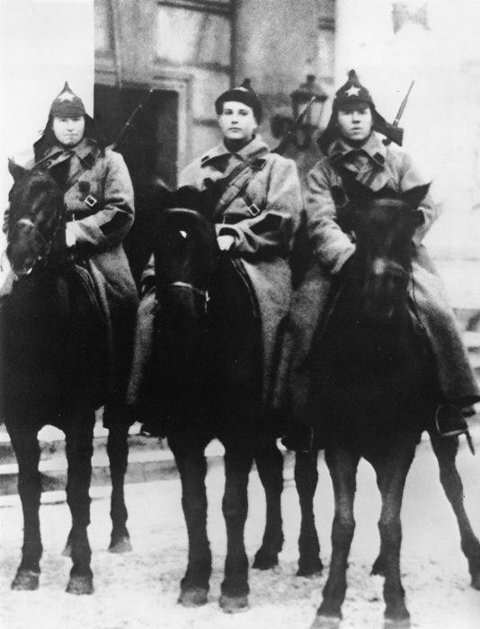 Красноармейцы в 1920-е годы.