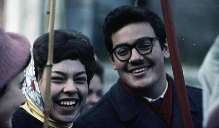 «День великого праздника рабочих всего мира» СССР, 1964 год. Автор фотографии: Тарасевич Всеволод Сергеевич.
