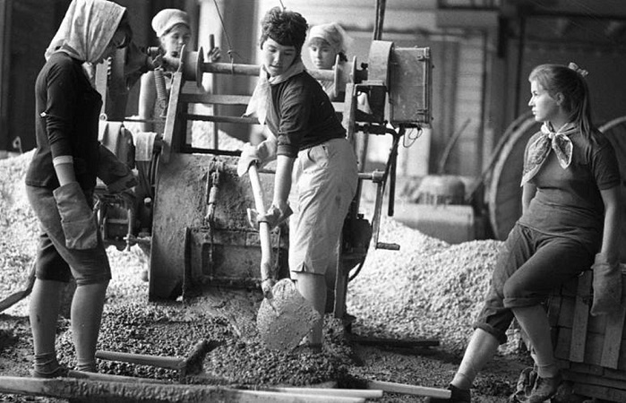 Советская молодёжь на фотографиях легендарных фотографов.