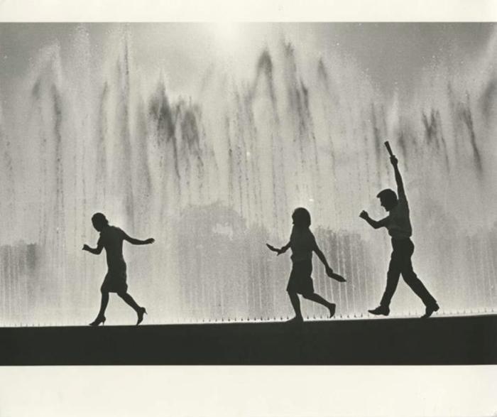 На выставке достижений народного хозяйства. СССР, 1967 год. Автор фотографии: Лагранж Владимир Руфинович.