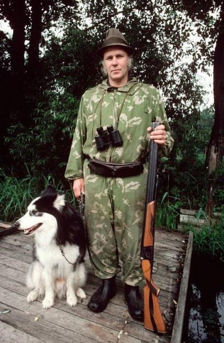 Член Рижского охотничьего клуба. СССР, 1981 год.