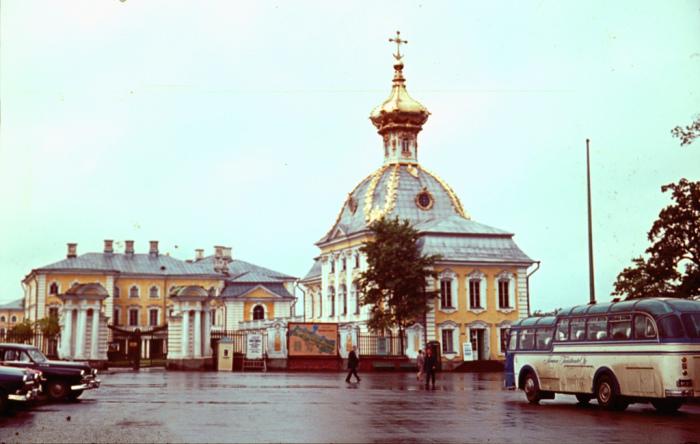 Православная церковь в Ленинграде.