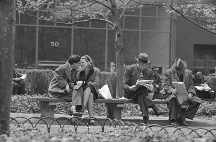 Уличные ретро фотографии Стэнли Кубрика.