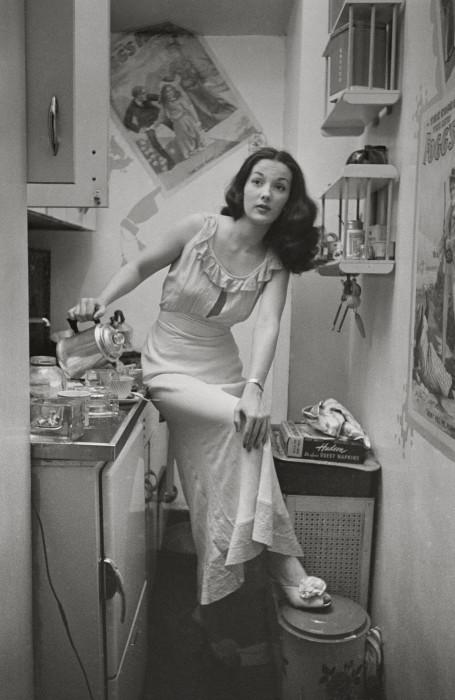 Бродвейская танцовщица Розмари Уильямс в 1948 году.