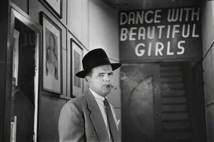 Танцевальный зал на Бродвее, 1949 год.