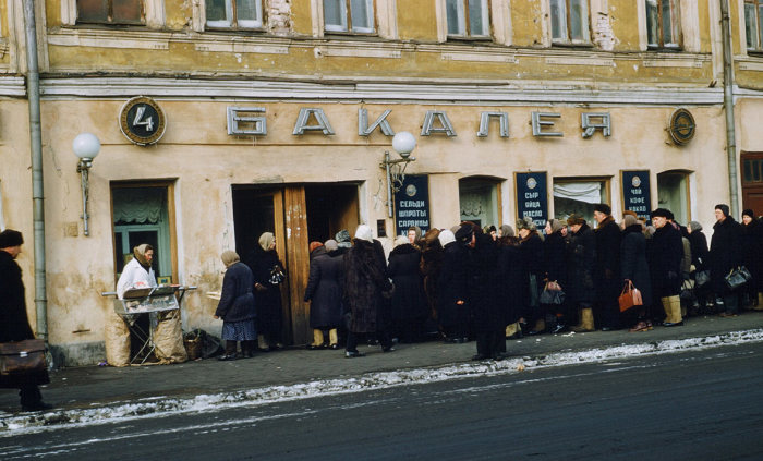 Ностальгическая коллекция фотографий разных лет, сделанных в СССР.