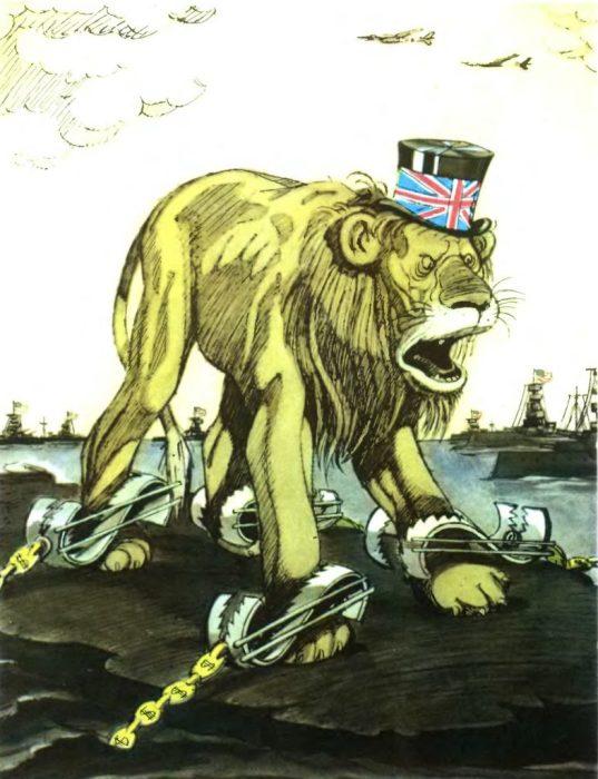 Англия в долларовых капканах.