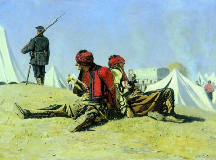 «Два ястреба». Башибузуки, 1878 год.