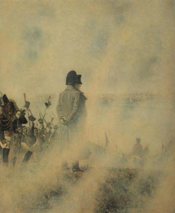 Наполеон на Поклонной горе.