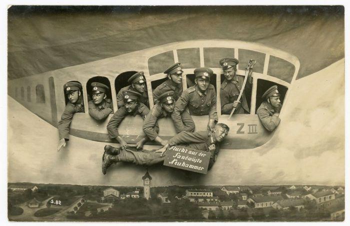 «Полёт из военного лагеря Нойхаммер».