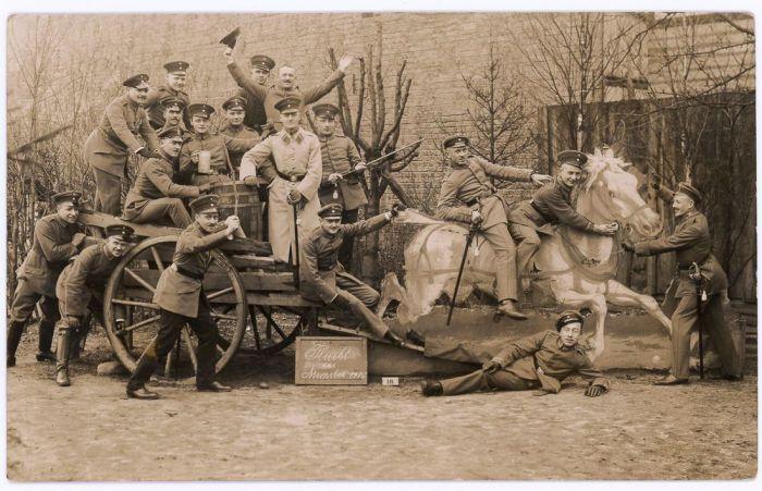 «Бегство из военной базы в Мюнстере».