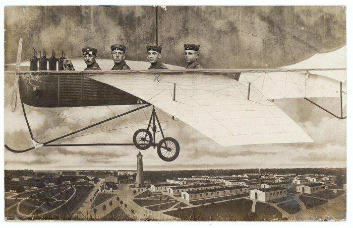 Полёт над военным полигон в Нойхаммер-ам-Квайс.