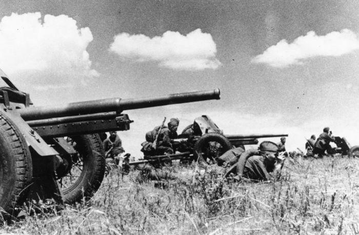 Истребительно-противотанковая артиллерия Рабоче-Крестьянской Красной Армии.