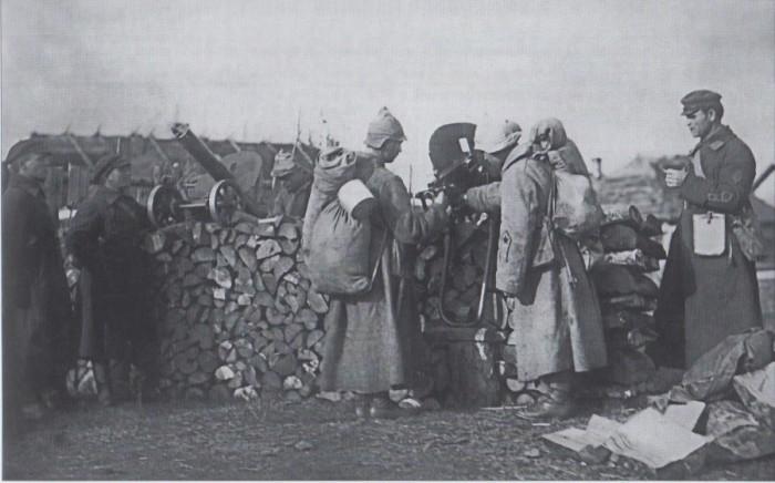 Высокоинтенсивная военная подготовка в пригороде Ленинграда, 1924 год.