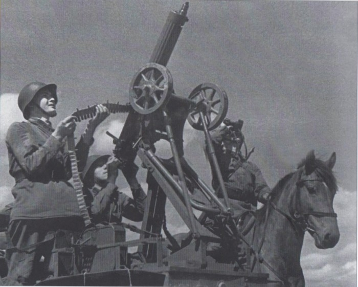 Подготовка стрелков-зенитчиков.
