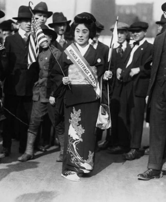 Японская актриса.