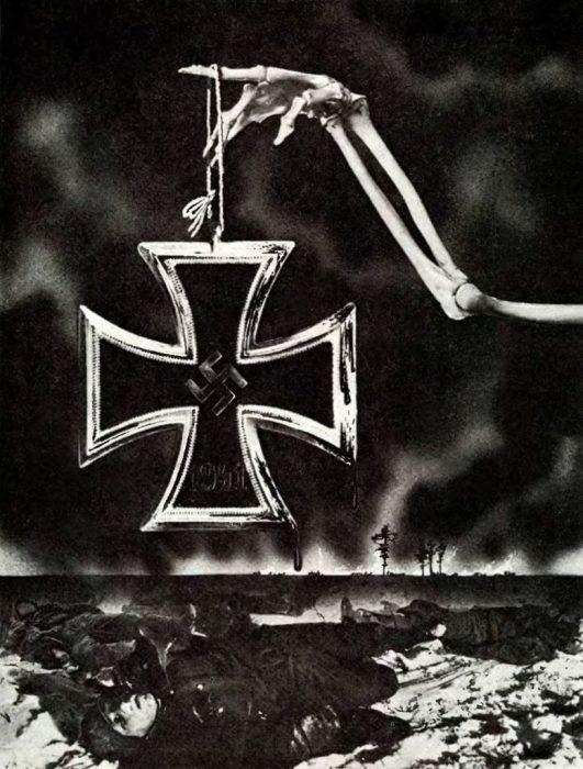 Советская листовка 1941 года.