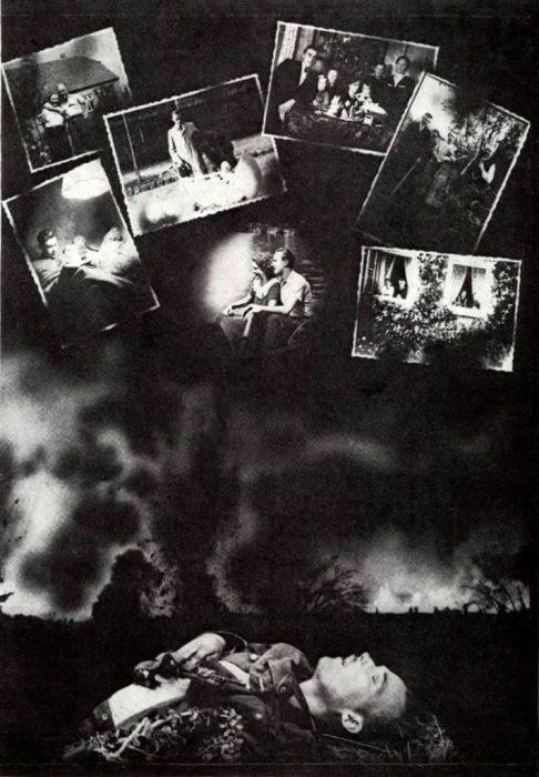 «Адольф Гитлер отнял у тебя мечту». Листовка 1943 года.