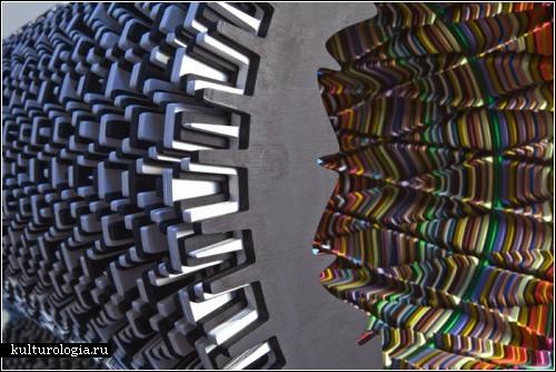 Скульптуры  с оптической иллюзией от Ары Петерсон (Аra Рeterson)