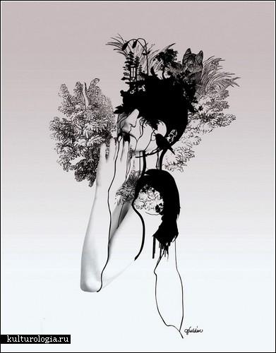 Женственные образы Джеральдины Джорджес (Geraldine Georges)
